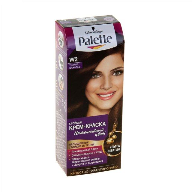 Цвет краски для волос шоколад палитра цветов
